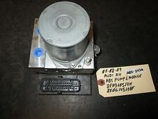 07-09 AUDI A4 ABS PUMP & MODULE #8E0910517H/8E0614517BF *See item description*