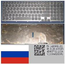 Qwerty Keyboard Russian SONY VAIO SVE15 SVE-15 SVE 15 AEHK57021203A 149091411RU