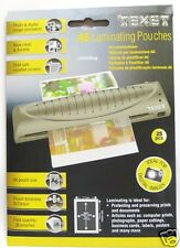 A4 Laminating Pouches TEXET Pack of 25 (LMA4Bag)