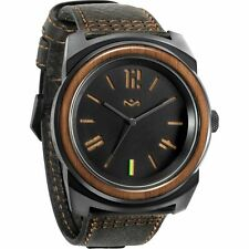 The House Of Marley Capsule Leather Watch - Men's brand new free shipping