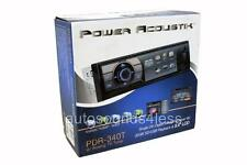 "Power Acoustik PDR-340T MP3/WMA/USB Digital Media Player 3.4"" LCD TV Tuner New"