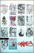 GRIMES Art Angels 2015 Ltd Ed RARE New Poster +Pop/Indie/Dance Poster! Visions