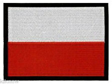 "Poland (embroidered) Patch 5""x 4"" (13 x 10CM) approx"