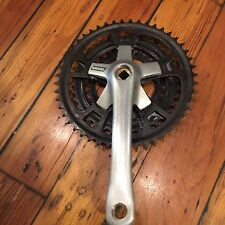 Vintage 170mm Sakae MTB Drive-Side Crank Arm-48/38/28t-Trusted Seller-Triple