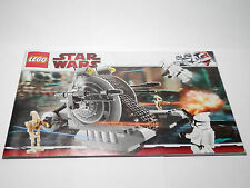 LEGO Instruction Book 7748 Star Wars Clone Wars Corporate Alliance Tank Droid