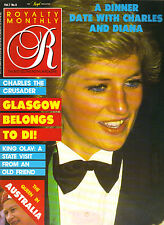 PRINCESS DIANA UK Royalty Monthly Magazine 6/88 DINNER DATE
