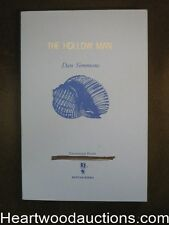 The Hollow Man by Dan Simmons Uncorrected page proofs(SOFTCOVER)- High Grade