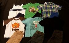 Baby Boy Size 24 Months Mixed Spring & Summer Clothing Lot