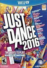 New! JUST DANCE 2016 Wii U Nintendo SEALED BRAND NEW!