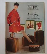 VINTAGE BANKHARDT'S 1960s CATALOG LUGGAGE SHOP GIFTS OF FASHION BANKHARDT