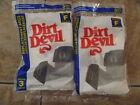 ORIGINAL 6 DIRT DEVIL TYPE F VACUUM BAGS SALE 2Pk 2x3  6 BAGS