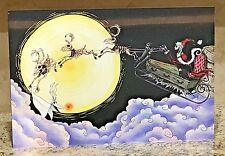 Haunted Mansion Holiday Nightmare Before Christmas Santa Clause Sleigh RARE