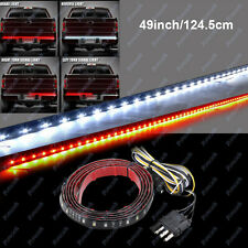 "49"" Flexible 5 Function LED Strip Tailgate Light Bar Brake Turn Signal Truck SUV"