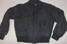 Members Only Winter Gray Serpa Zip Out Liner Jacket - Size 40 - Vintage 80's !!