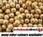 GOLD FOIL CHOCOLATE BALLS WEDDING FAVOURS WRAPPED (all quantities available)