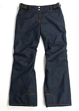 PHENIX wmn Waterproof Insulated Ski/Snow Denim Pants Jeans Style, US 12/EU 42