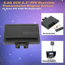 """5.8G 8CH 4.3"""" FPV Real-time Transmission Display Screen for SYMA X5C X5SC S8X2"""