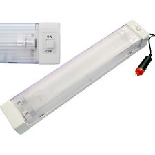 12V 8W DOUBLE TUBE FLUORESCENT TUBE STRIP  INTERIOR LIGHT CARAVAN CABIN BOAT CAR