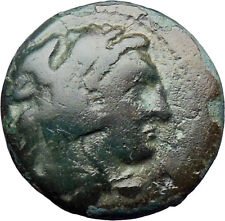 Alexander III the Great 336BC  Ancient Greek Coin Hercules Bow Club  i30301