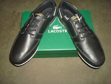 LACOSTE SHOES BLACK DREYFUS SPM SIZE 11 US, 10 UK, EUR 44.5