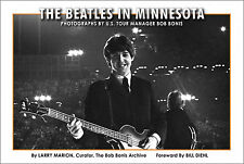 NEW BEATLES BOOK - The Beatles in Minnesota - featuring BOB BONIS Photographs