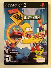 Simpsons Hit and Run - Playstation 2 - Replacement Case - No Game