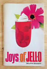 Vintage Joys of Jell-O Gelatin Dessert Recipe Booklet 11th Edition