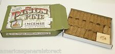 2 boxes - total of 64 PINON PINE INCENSE CONES & 2 wood burners by PAINE'S Maine