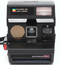 Polaroid AutoFocus 660 Instant 600 Film Camera Made USA 1980s Fully Operational
