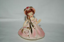 Vintage Josef Originals California Days Of The Week Thursday in Pink Figurine!!