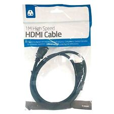 HDMI Cable 1 Metre For HD TV Laptop connect DVD Games consoles to computer TV