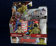 Marvel MiniMates Series 63 Age of Ultron ULYSSES KLAUE & HULK Figure 2 PK