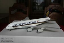 JC Wing Singapore Airlines Airbus A380 Foumula One Color Diecast Model 1:200