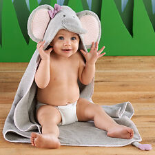 Splish Splash Elephant Bath Hooded Spa Towel Baby Shower Gift