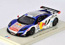 SPARK McLaren MP4-12C French GT Tour 2012 S. Loeb - G. Vannelet SF067 1/43