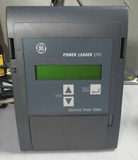 GE Power Leader EPM PLE3ESFG14 Electronic Power Meter 480V General Electric