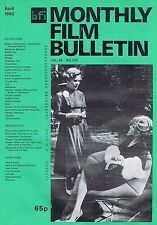 ROSEL ZECH / BARBARA SUKOWA Monthly Film Bulletin Apr 1982