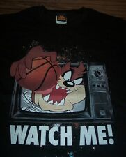 WB LOONEY TUNES TAZ Tasmanian Devil BASKETBALL SPACE JAM T-Shirt 4XL XXXXL NEW