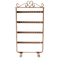 New 48 Hole Earrings Ear Studs Jewelry Display Rack Metal Stand Holder Showcase
