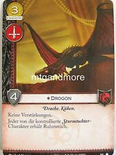 A Game of thrones 2.0 lunaires - 1x Drogon DT. #161 - base set-second edition