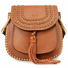 NEW and AUTHENTIC Chloe Hudson Calfskin Bag | Caramel with Gold Hardware