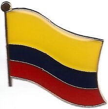 LOT OF 12 Colombian Flag Lapel Pins - Colombia Flag Pin