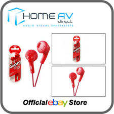 JVC HA-F160 gomoso In-Ear Auriculares Compatible con iPod/iPhone en rojo frambuesa