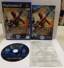 Console Gioco Game SONY Playstation 2 PS2 PAL ITALIANO MEDAL OF HONOR RISING SUN