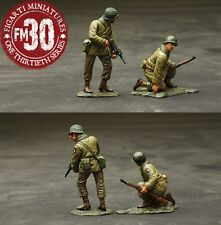 FIGARTI PEWTER WW2 AMERICAN ETA-041 U.S. 101ST AIRBORNE HERE THEY COME SET 1 MIB