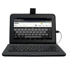 """Quad Core Tablet 9"""" Tablet Android 4.4 Cortex A7 BT 8G HDMI Keyboard Refurbished"""