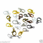 10mm,12mm,14mm,16mm Lobster Claw Trigger Clasps Jewellery Findings (CBR)