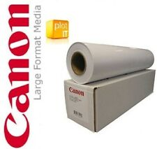 "2 x Rotoli Canon Photo Satin Carta a2 432mm PRO 17"" per Epson, HP & Canon IPF"