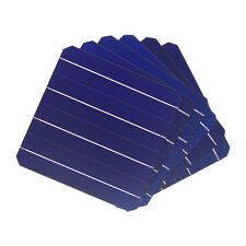 10 Pcs A Grade 19.6% 4.8W Efficiency 156MM Monocrystalline Solar Panel Cell 6x6