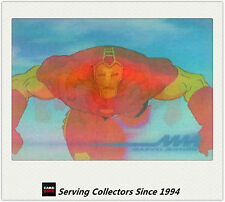 1996 Marvel Motion Trading Cards 3-D Motion card No8 Iron Man